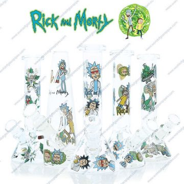 Rick and Morty Glass Bong Collection 1