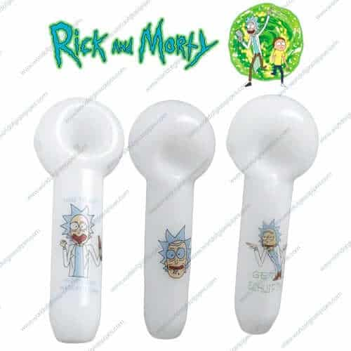 Smoking pipes from rick and morty