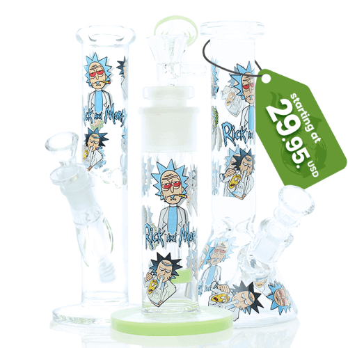 Rick and Morty Bongs for sale