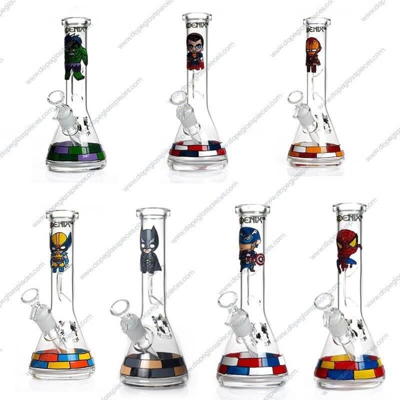 10 Inch Cartoon Themed Glass Piece