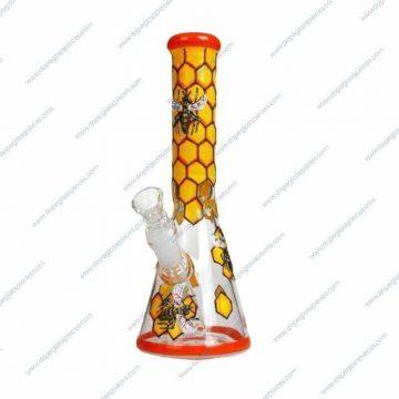 10 Inch Honeybee Glass Piece