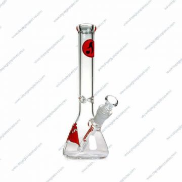 10 Inch Red Colored Hitman Ice Glass Piece
