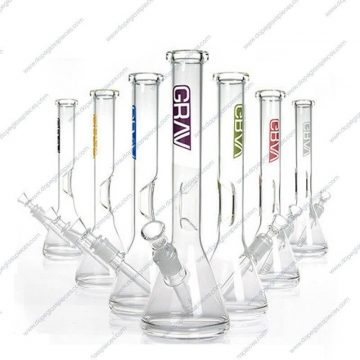 12 Inch Colored GRAV Thich Ice Glass Piece