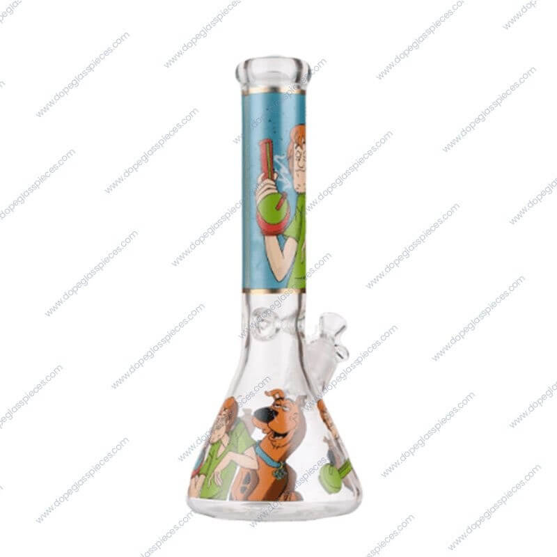 14 Inch Scooby Doo Themed Ice Glass Piece